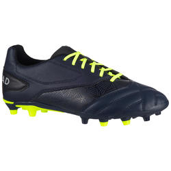 FIRM GROUND RUGBY BOOTS DENSITY R100 FG - BLU
