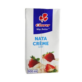 Clover Nata Cream, 500 Ml