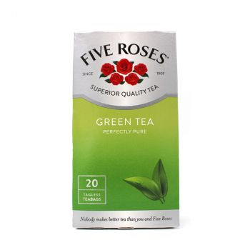 Chá Five Roses Green Tea