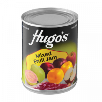 Jam Hugos Mixed Fruit, 450 G