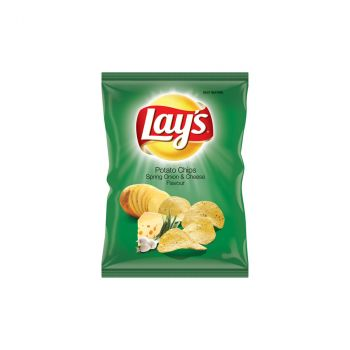 Chips Lays Spring Onion & Cheese, 36 G