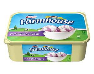 Gelado Rainbow Farmhouse Tigela 2 L