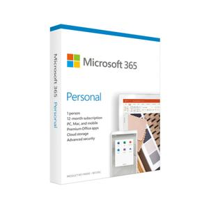 Microsoft 365 Personal Edition - 1 Year Subsc