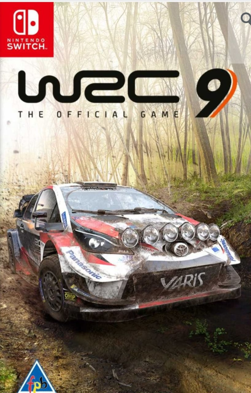 World Rally Championship 9 Nitendo Switch